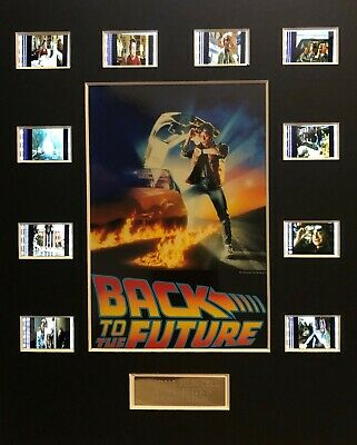 Back to the Future 35mm Film Cell Displays - cells as shown