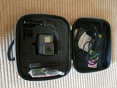 GoPro Hero 5 - Black, with Case, 32 GB SD Card also accessories