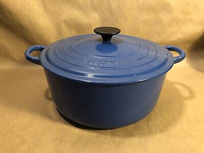 Le Creuset~Model F~Dutch Oven~5.5 Qt~Marseille~Made In France~Used