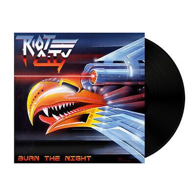 Riot City - Burn The Night Lp No Remorse Rec 2019 Heavy Judas Priest New