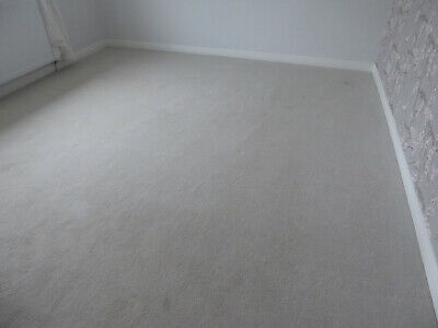 Carpet Light grey 400cm x 342cm Suitable for any room with underlay