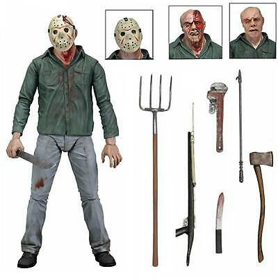 """Halloween Friday the 13th Part III 3D Jason Voorhees Ultimate 7"""" Action Figure"""