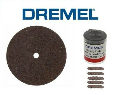DREMEL ® 420 Heavy Duty Cut-Off Wheel 24 mm (20 No) (2615042032)