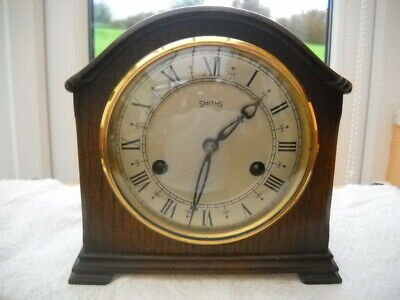 Pretty Petite Floating Balance Mantel Clock By Smiths In G.w.o.