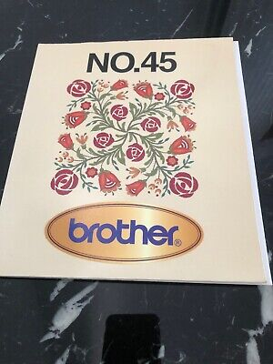 Memory Card For Brother Sewing Machine No45