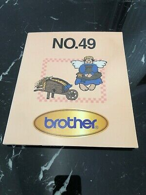 Memory Card For Brother Sewing Machine No 49
