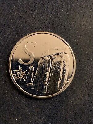 NEW A-Z 2018 ALPHABET 10p COIN LETTER  S-STONEHENDGE CIRCULATED