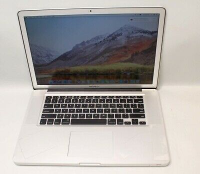 "APPLE MACBOOK PRO EARLY 2011 INTEL CORE i7 2.3GHz 8GB RAM 256GB SSD 15.4"" OS HIG"