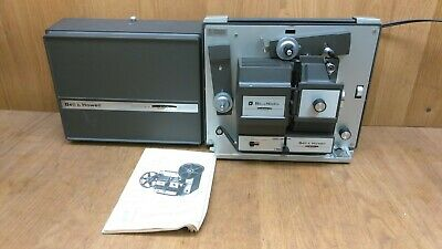 Bell & Howell Model 456A 8Mm Super 8 Film Projector Autoload **Clean**