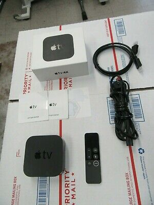 Apple TV (5th Generation) 64gb 4K HD Media Streamer (MP7P2LL/A)  With Remote