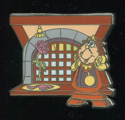New Fantasyland Beauty and the Beast Mystery Bonjour Cogsworth Disney Pin 94076