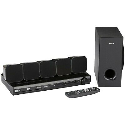 RCA Home Theater System DVD Player Wi-Fi 200W Surround Sound 1080p 5.1 ch