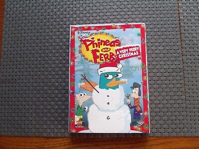 Phineas and Ferb a very Perry Christmas on dvd new