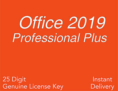 Microsoft Office 2019 Pro Plus for PC