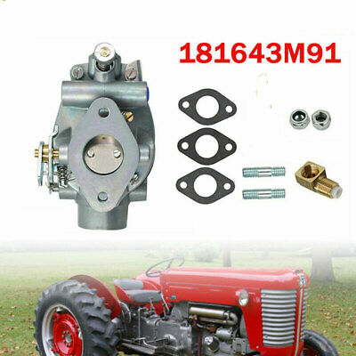 New Carburetor Carb For Massey Ferguson MF Tractor TE20 TO20 TO30 181644M1