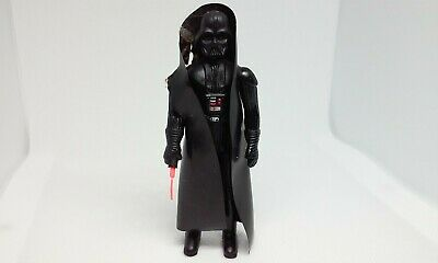 "Vintage Star Wars Darth Vader 3.75"" Complete Action Figure Hong Kong 1977"