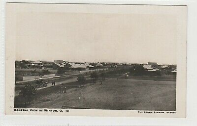 Vintage Postcards   General View Of  Winton Qld