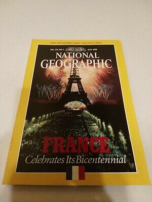 National Geographic Magazine - July 1989 Vol 176 No 1 France