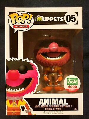 Funko Pop! Disney Muppets - Animal #05 - Flocked Funko Shop LE 4000 - RARE