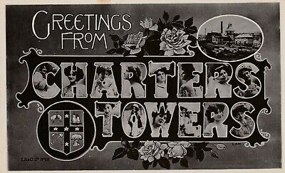 Vintage Postcards   Charters Towers Qld