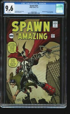 Spawn #221-2012 CGC 9.6 nm+ Image Todd McFarlane Amazing Fantasy 15 Homage cover