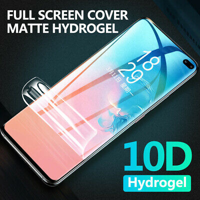 2Pcs Hydrogel TPU Screen Protector For Samsung Galaxy Note 10 5G S10+ S8 S9 Film