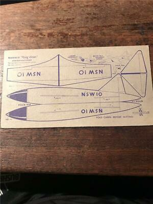 1948 Nabisco Flying Circus airplane cereal Stratosphere Rocket space card