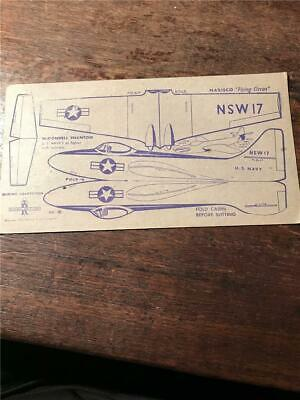 1948 Nabisco Flying Circus airplane cereal cards models McDonnell Phantom card