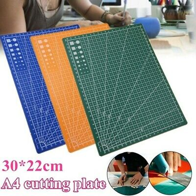 A4 Double-sided Grid Lines Cutting Board Mat Self-healing Cutting Pad DIY Tool