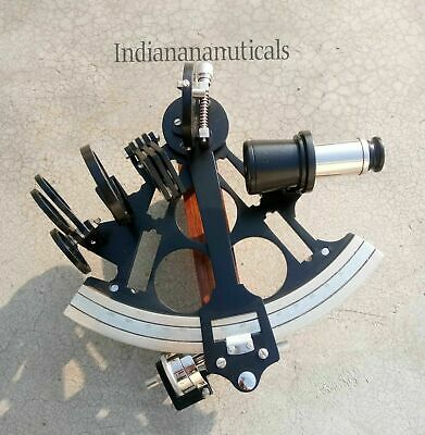 Beautiful Design Nautical Replica Sextant Working Navy Navigation Royal Gift .
