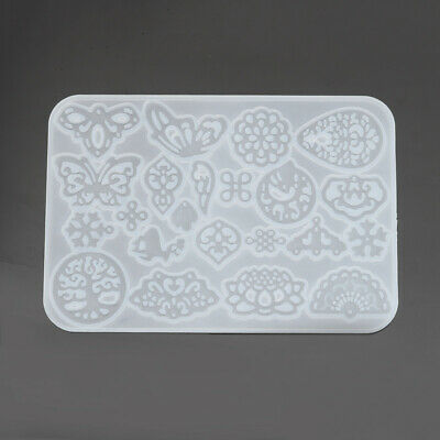 Filigree Silicone Mould for Resin Casting