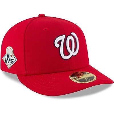 MLB Washington Nationals 2019 World Series New Era 59Fifty Fitted Hat Low Pro RD