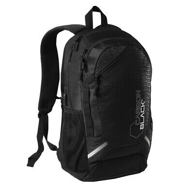 Carbonblack Water Resistant Sports Backpack made from Recycled Plastic Bottles