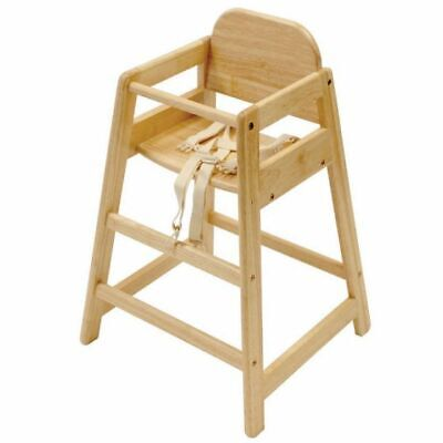 East Coast Cafe Wooden Highchair - Natural *WAS £44.99* *NOW £29.99*