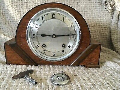 Vintage Art Deco Garrard Clocks Ltd Mantel Clock