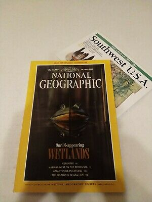 National Geographic Magazine - Vol. 182 #4 October 1992 Wetlands