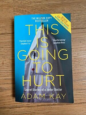 this is going to hurt adam kay paperback