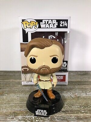 Funko Pop! Star Wars Obi-Wan Kenobi #214 Smuggler's Bounty Exclusive