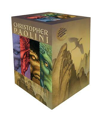 Inheritance Cycle 4 Book Set Eragon, Eldest, Brisingr, Inheritance Paolini Buch
