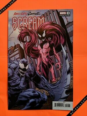 Absolute Carnage Scream #3 Variant Mark Bagley Connecting Cover B Marvel 2019 NM
