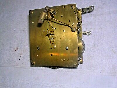 Clock  Parts  ,  A Brass   Movement  , Working  Order