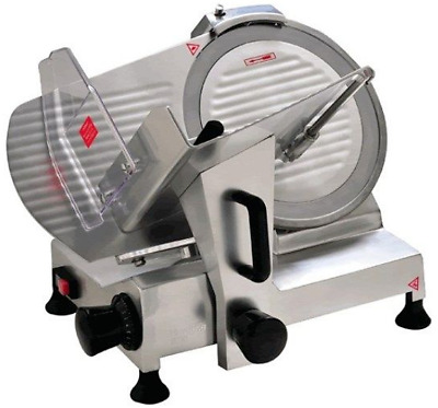 """Commercial Electric Meat Food Slicer Deli Butcher 220mm 8"""" Blade Cheese"""
