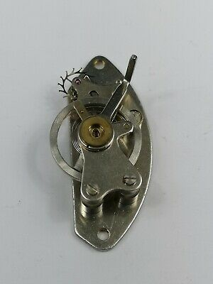 Vintage Clock Platform Escapement - Balance Good, Spins Freely (AB15)
