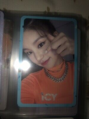 Itzy - Yeji Official Photocard - It'z Icy - [Usa Seller]