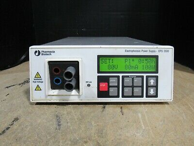 Pharmacia Biotech EPS-3500 Electrophoresis Power Supply Tested & Working