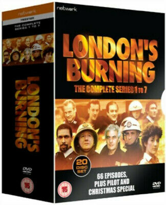 LONDON'S BURNING - The Complete Series 1 - 7 - DVD BOX SET.