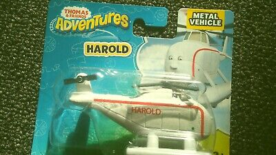 FISHER-PRICE METAL THOMAS /& FRIENDS ADVENTURES HAROLD THE HELICOPTER BNIB NEW