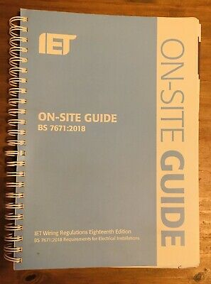 IET 18th Edition On Site Guide