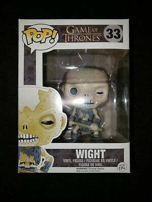 Funko Pop Game Of Thrones Wight # 33 with protector