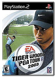 Tiger Woods PGA Tour 2003 (Sony PlayStation 2, 2002) GOOD
